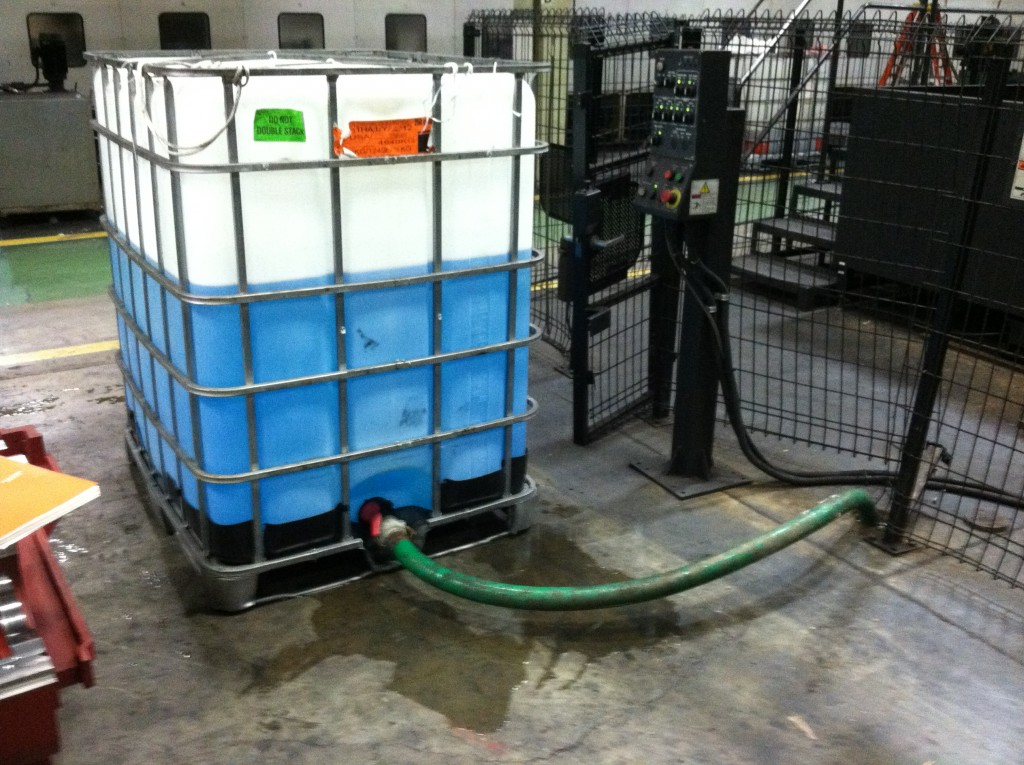 Bioremediation Using Petrox EC Under a Factory Floor